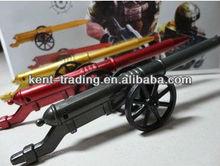 newly design gun shape ballpoint pen plastic school cross fire pen custom logo pen for promotional