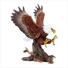Hunting Eagle Porcelain Sculpture