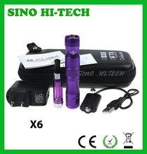 Zeus X6 Kit,X6 Starter Kit with Leather case,Best Price X6 ECigs Electronic Cigarette E Vaporizer