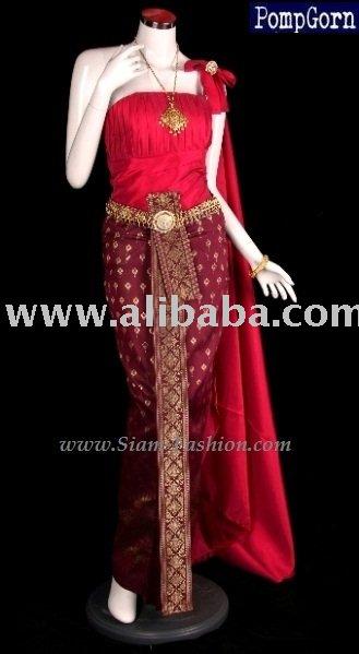 Thai Style Wedding Clothes