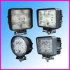 27W 9-32vdc Square/round LED truck work lights