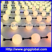 5cm music control,dvi 360 degree led string ball lights dmx