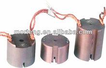 copper round carbon brush for motors and generators