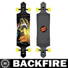 Backfire 2013 New Design(Drop Down) Wave Hand Drop Down Cruzer Freeride/Downhill Longboard 40