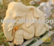Sandstone Elephant Sculpture