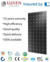 315W mono pv solar panel