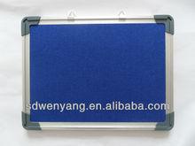 FB-95 hot sale cost effective wall mounted aluminum frame felt memo board