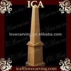 Antique marble column pedestal,limestone pillar caps,stone decorative outdoor pillar