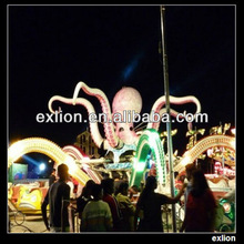 funny and attractive amusment rides lively octopus rides for sale