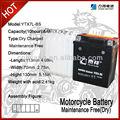 Ytx7l-bs bateria de moto peças ciclomotor usado