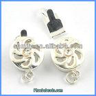 Wholesale Box Clasps For Jewelry Beautiful Flower Shaped PBC-K010424
