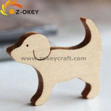 Promotional goods wood fridge magnet dog