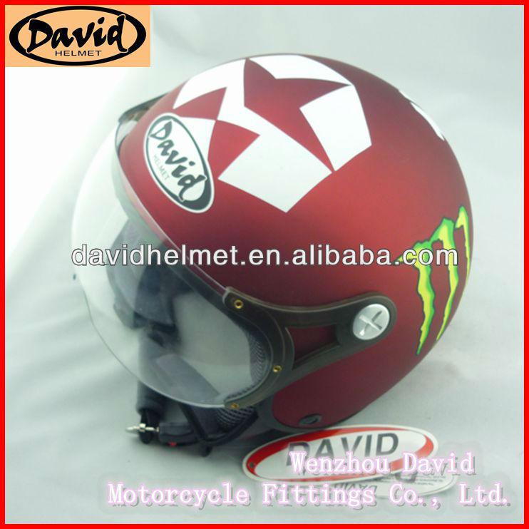 David motorcycle half helmet D008