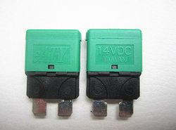 DC14V 30A Auto Reset blade Type circuit Breaker
