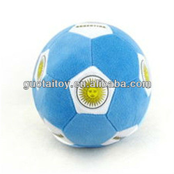 top quality beautiful football boys preferred plush toy