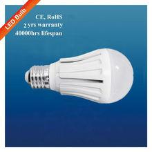 SYW 2013 Living Room 5W E27 low heat no uv led light bulb