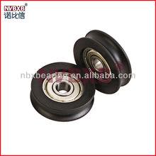 aluminum window & door pulley with bearing (manufacturers)