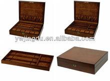 yiwu brown watch wooden storage box wholesale