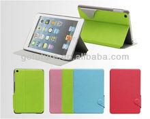 Factory supply , custom pu leather case for ipad mini