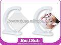 La sublimación de diamante giratorio marco de fotos( blxk01)