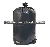 7-10 Gallon,Black,1.2 Mil,24''x23'' Garbage bag Trash bag ;500/Case