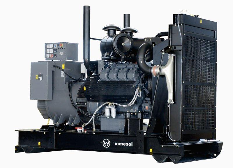 inmesol 500 kva generador diesel