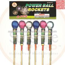 Mixed Ball Rocket Pack Factory China