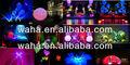 iluminación led globo inflable para el anuncio de venta de los productos