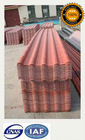 Red Color Resin Plastic Royal Style Building Roof Material