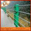 Wire rope safety fence/cable fence