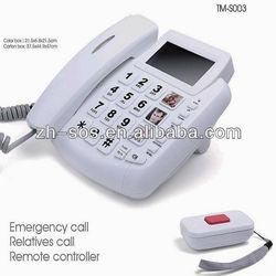 2014 discount sales emergency SOS phone,round keypad phone, caller number phone