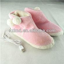Usb calore pantofole/usb calore scarpe pantofola/usb pantofole calde