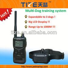 Remote Control Pet Training Collar, Range up to 1000 Meters TZ-PET900