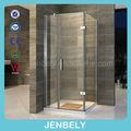 Precio de cubículos para ducha con bisagras cuadradas