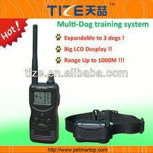 Free shipping 1000 meters Remote Pet Training collar TZ-PET900
