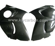 Carbon fibre side panels motorcycle parts for Suzuki GSX1300 R Hayabusa