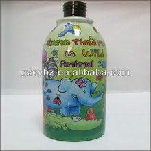 30u best design shrink wrap bath bottle label