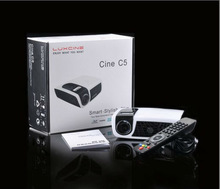 Hot seller !!! C5D mini DLP 3D projector with USB and TF card