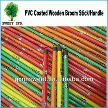 Panda design wooden broom handle for Egypt market