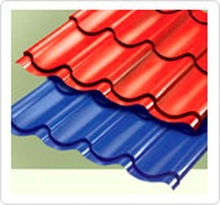 Pre-Painted Steel Roof Tiles