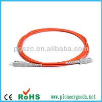 sc sx mm fiber optic patch cord