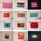 NEPAL CRAFT FELT PURSE