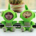 12 cm Teletubbies DIY Soft 3d Plushed boneca da foto da cara de maior Factiry com menor preço