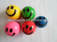 smile super rubber bouncy ball