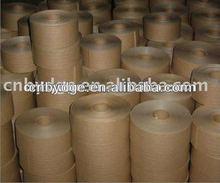 dongguan waterproof adhesive big roll kraft paper tape for packing
