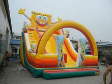 Spongebob inflatable slide