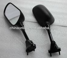 Jet Black motorcycle Mirrors FOR 2004-2008 Kawasaki Ninja ZX6 ZX6R ZX10 ZX10R