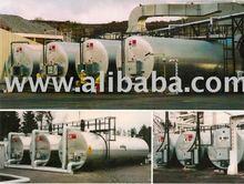 Bitumen Horizontal Storage Tanks