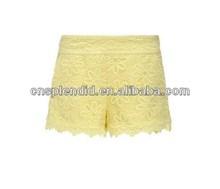 Mesh Fabric embossed ladies work pants