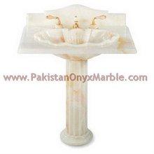 White Onyx Pedestal Sinks, white onyx Vessel Sinks,white onyx Bathroom Sinks